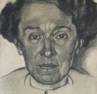 Valentijn E. van Uytvanck 'Portrait of Marie Neuhuys' 1917