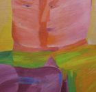 Painting Theo Schuurman 'Figuur als object II' 1967