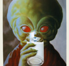 Poster Frans Hettinga 'Gnerk. De Witte Gnotor' 1986
