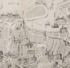 Tourist City Map Gebr. Braakensiek ' Amsterdam Geïllustreerd'  1883