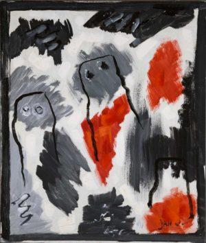 Jan Oosterman 'Onzeker' 1992
