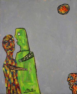 Jan Oosterman 'Disturbed' 1995