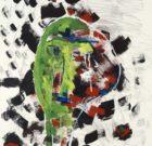 Jan Oosterman 'Portrait in Green' 1994