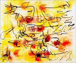 Jan Oosterman 'Rook en Vuur' 1990
