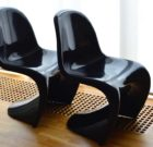 2 Verner Panton Chairs for Herman Miller (Fehlbaum Production) '70s