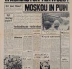 NEWSPAPER 'Washington verwoest. Moskou in puin' 1973