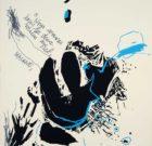 SILKSCREEN A. Durand/ Victor Hugo 1986