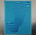 SILKSCREEN  Peter R. Bakker 'Water Drops' 1978