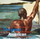 POSTER 'The great American Watercolour' 1996