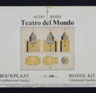 SCALE MODEL KIT Aldo Rossi 'Teatro del Mondo' 1984
